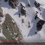 【迫力】立山で大自然の中のスノボー滑走は大迫力です