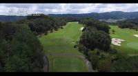 ゴルフ場空撮