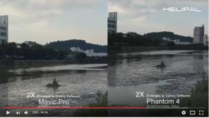 Mavic ProとPhantom 4の画質の違い